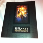 Star Wars: Episode One Collectible Booklet