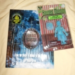 Haunted Mansion book and action figure set!