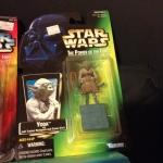 Yoda action figure!