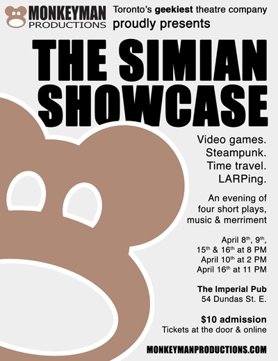Simian Showcase Poster