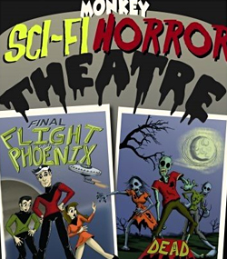 Monkey Sci-Fi Horror Theatre