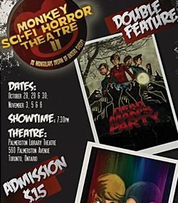 Monkey Sci-Fi Horror Theatre II