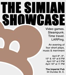 The Simian Showcase 2011