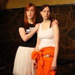 Clare Blackwood and Victoria Urquhart in Two of Everything