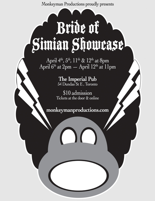 Bride of Simian Showcase