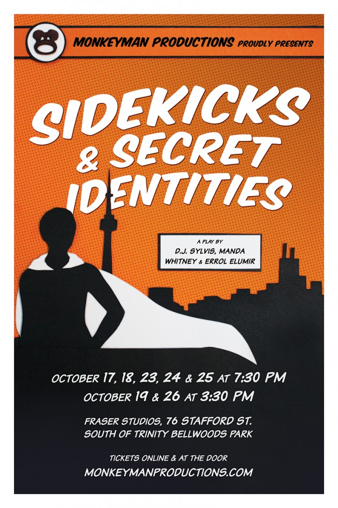 Sidekicks and Secret Identities!